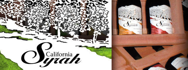 Label Design for Fresno State Winery